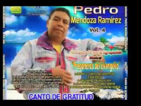 Hno,Pedro Mendoza Ramirez, (Vol#2) Con Plumas De Oro, Disco Comlpleto , Alabanzas
