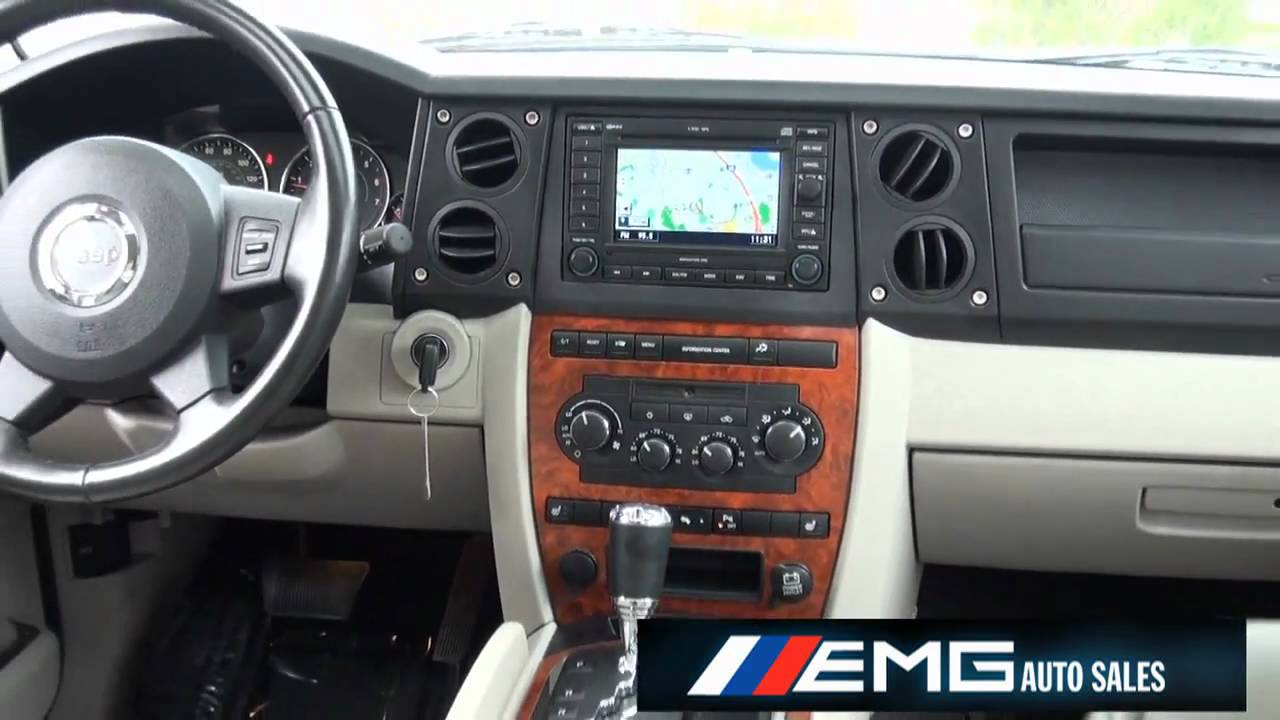 2007 jeep commander limited hemi navi rearcam youtube. Black Bedroom Furniture Sets. Home Design Ideas