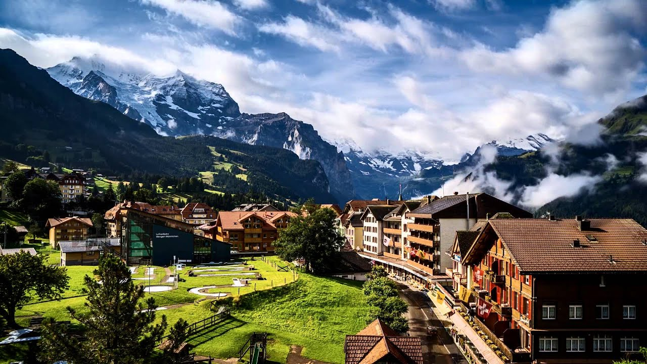 Switzerland Timelapse Geneva Wengen Youtube