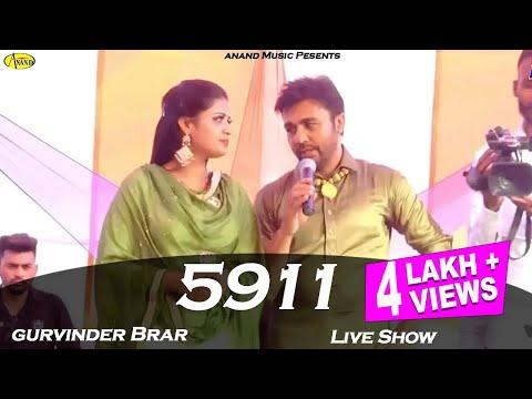 gurvinder-brar-l-5911-l-live-show-l-latest-song-2019-l-anand-music-l-new-punjabi-song-2019