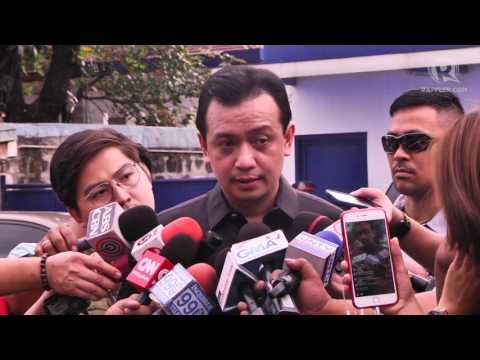 Trillanes to Duterte: I will have you jailed