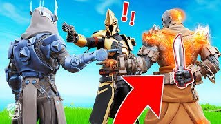 WHICH KING is the KILLER?! *SEASON X* (Fortnite Murder Mystery)