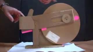 Model of Flywheel Log Splitter