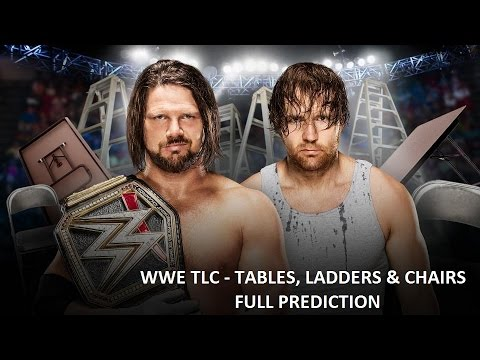 WWE TLC 2016 Prediction - Full Show Prediction - WWE Tables, Ladders & Chairs 2016