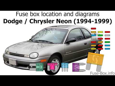 chrysler neon fuse box fuse box location and diagrams dodge chrysler neon  1994 1999  fuse box location and diagrams dodge
