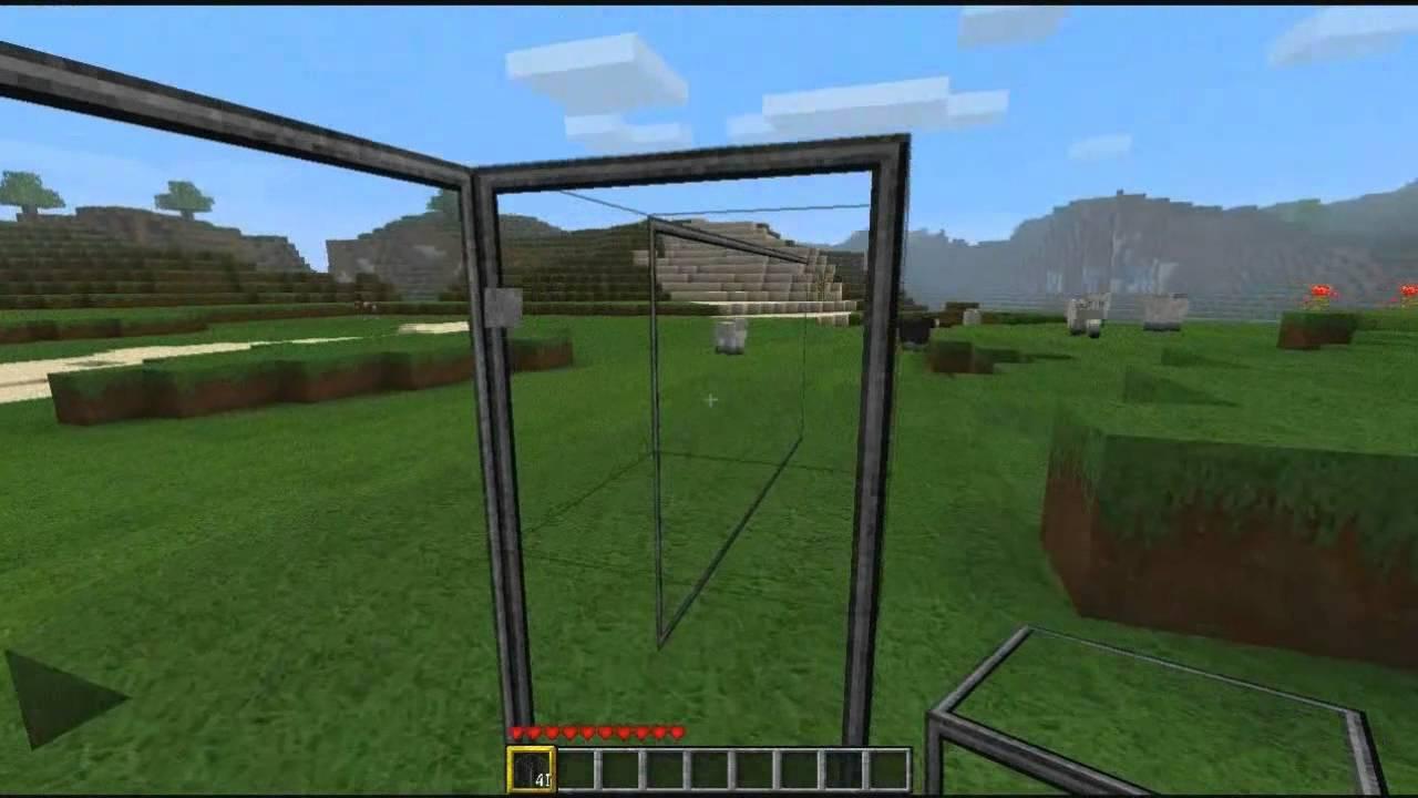 minecraft better glas mod 1 7 youtube. Black Bedroom Furniture Sets. Home Design Ideas
