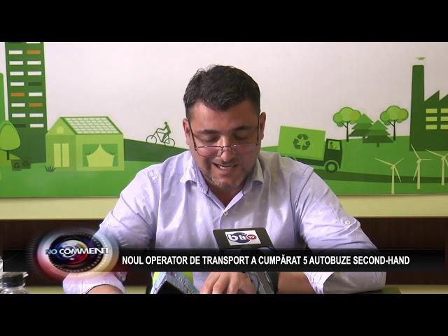 NOUL OPERATOR DE TRANSPORT A CUMPĂRAT 5 AUTOBUZE SECOND-HAND