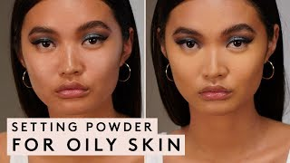SETTING POWDER FOR OILY SKIN | FENTY BEAUTY Video