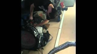 Premiers réglages moteur Kart par Vince et Xav.