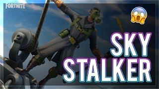 *NEW* Sky Stalker Skin | PROPELLER AXE | Fortnite Battle Royale Live 🔴