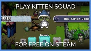 Play KITTEN SQUAD on for FREE on Steam for Wi...