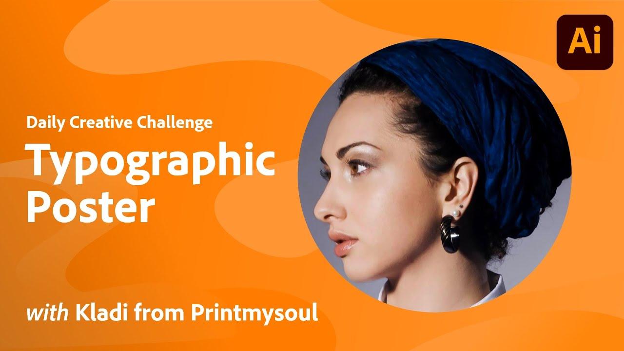 Illustrator Daily Creative Challenge - Typographic Poster