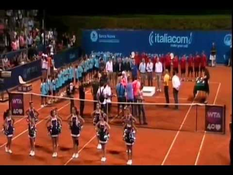 Premiazione VINCI ed ERRANI , ed ultimo game XXVI Internazionali di Tennis femminili 2013