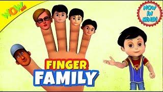 Finger Family | 3D Animated Kids Songs | Hindi Songs for Children | Vir | WowKidz