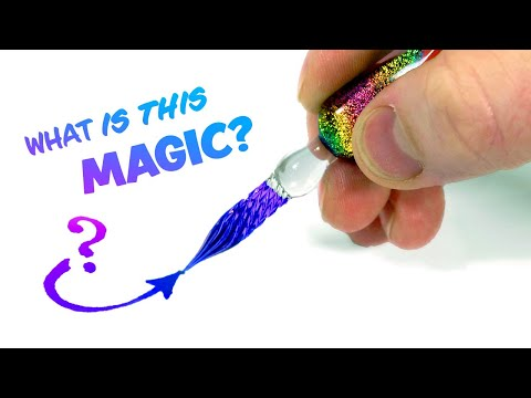 This GLASS PEN is Unlike Anything I've Ever Used!...
