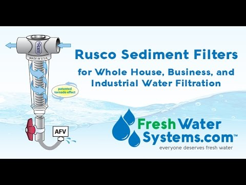 Rusco Filters, Sediment Filters for Whole House, Business, and Industrial Water Filtration