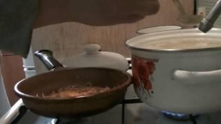 Рыбный суп из рыбных консервов.