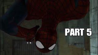The Amazing Spider-Man 2 Walkthrough Gameplay Part 5 - Into the Lion's Den