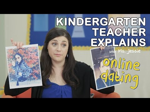 "Kindergarten Teacher Explains ""Online Dating"" 