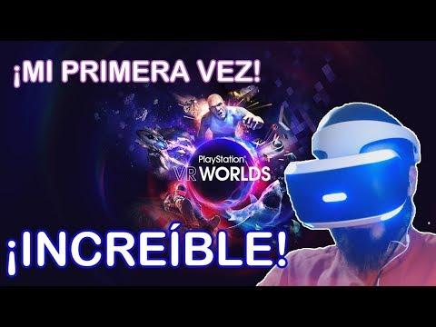MI PRIMERA VEZ | ME COMO LA MESA | PlayStation VR WORLDS