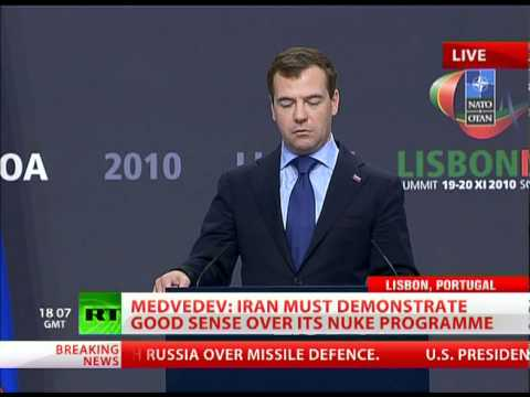 Medvedev: Russia won't join NATO missile defense as piece of furniture