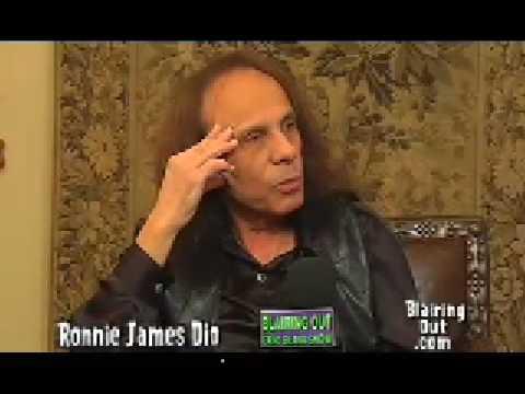 Ronnie James Dio talks to Eric Blair part 4