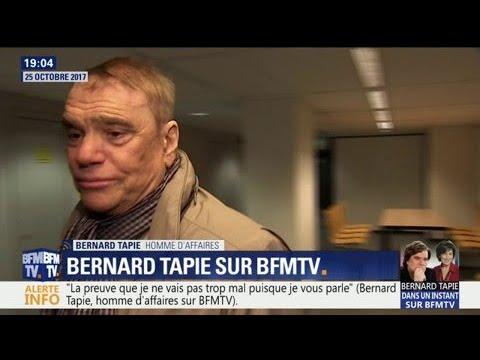 """""""C'est une sale épreuve"""", Bernard Tapie se confie sur sa maladie"""