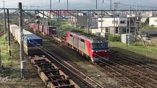 2018/7/14 JR貨物 五稜郭駅 EH800 / DF200 入れ替え作業