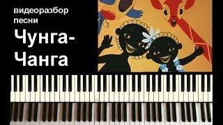 """""""Чунга Чанга"""" - как сыграть на пианино."""
