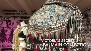 Victoria's Secret Fifth Avenue NYC. Balmain collection 2017
