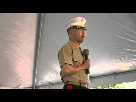 Marine Brigadier General Daniel D. Yoo at Cleveland Asian Fest