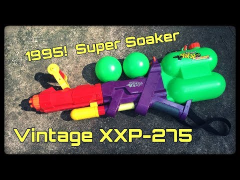 Vintage Review: Super Soaker XXP-275 (Over 20 Years Old!)