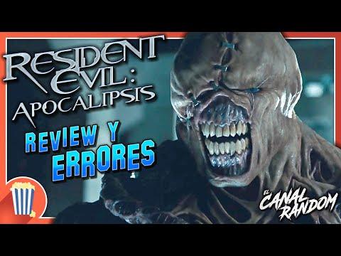 ERRORES de películas RESIDENT EVIL 2 Review Crítica y Resumen
