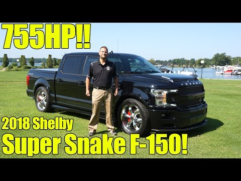 755HP 2018 Shelby Super Snake F150! Exhaust, Full Walkaround, Details, Review, How to Buy!
