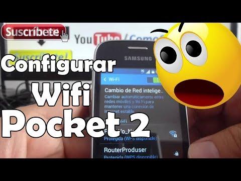 Samsung Galaxy Pocket 2 como configurar red wifi