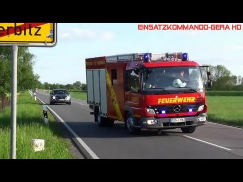 LF8-TS8 VG Pleißenaue + LF 10/6 FF Haselbach