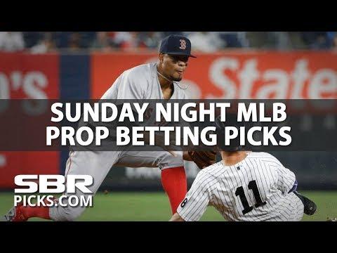 Sunday Night Baseball Prop Picks | MLB Betting