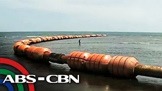 What fishermen found near Scarborough Shoal