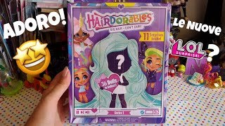 Saranno le NUOVE LOL SURPRISE?? HAIRDORABLES!!! ADORO!!! Bamboline a sorpresa!!!
