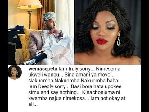 Wema Sepetu amwomba Msamaha Idris Sultan