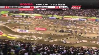2011 AMA Supercross - RD17 Las Vegas - 250 Class West [ Part 2 of 2 ]
