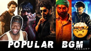 Download Top 10 Most Popular BGM ft Master, Petta,ArjunReddy,Asuran,Theri,Saaho,Kaithi,VikramVedha (REACTION)