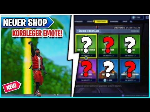 🏀 NEU! KORBLEGER Emote im Fortnite Shop 23.05 🛒 Battle Royale & Rette die Welt