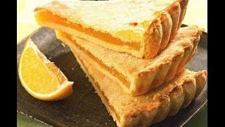 Нежный лимонный пирог.(Нежный лимонный пирог. Ингредиенты Сметана - 250 г. Сливочное масло - 110 г. Сода - 0,5 ч.л. Мука - 2 стакана...., 2015-04-09T22:22:45.000Z)