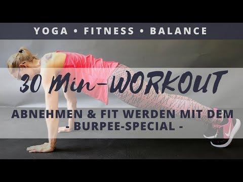 Burpee-Workout zum Mitmachen   Fit&Balanced