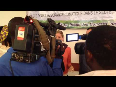 Behind the Scenes: Interview by Niger's national TV