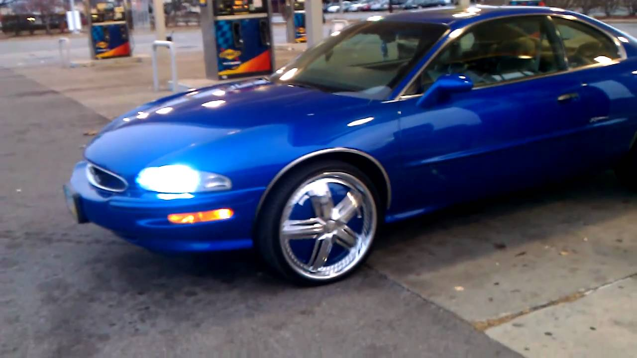 1999 kandy buick riviera on 22s dub padrone in toledo ohio youtube 1999 kandy buick riviera on 22s dub