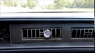 HFC-152A hot summer followup - 1987 Buick Park Avenue Coupe