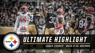 James Conner named AFC Offensive Player of the Week, Month   Pittsburgh Steelers