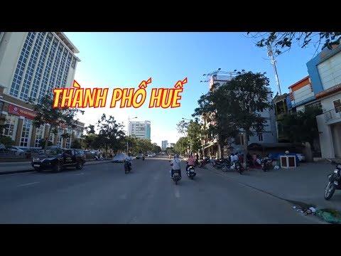 Dạo Phố Huế Từ Đường Hùng Vương - Hai Bà Trưng - Lý Thường Kiệt | Travel In Vietnam